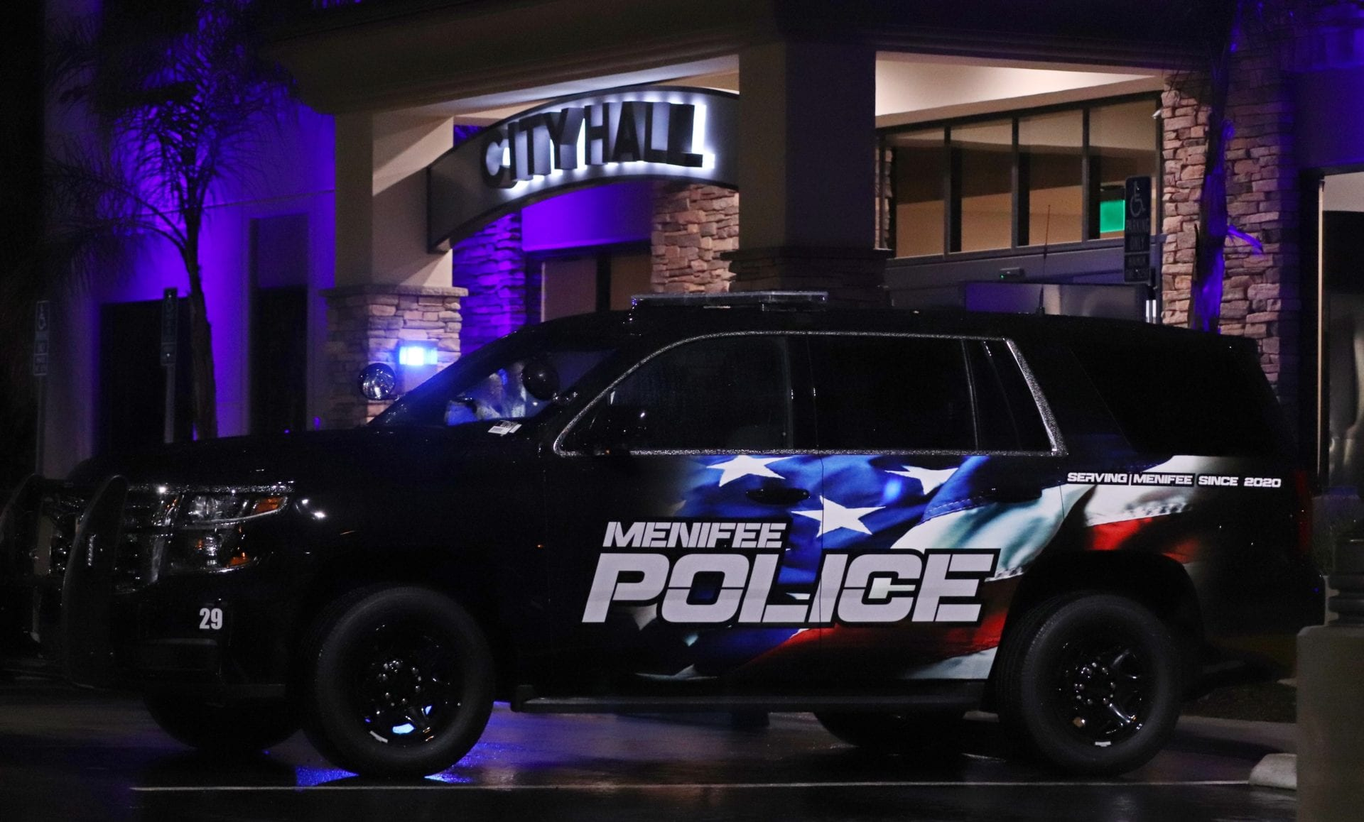 Menifee PD Reveals Its First Patrol Car - Menifee Police ...